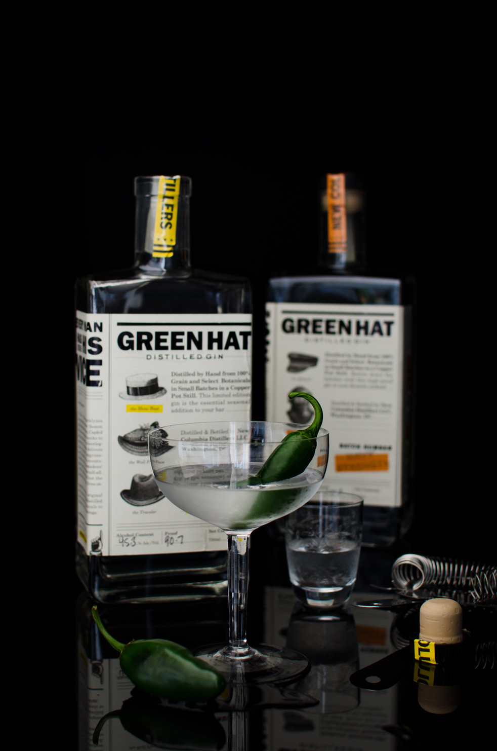 Green Hat Hot! Gin with Inspiration