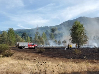 Task Force crew helps stop fire near Idanha