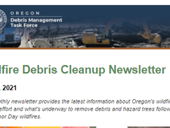 Halfway Home: Read the latest news about Oregon's wildfire cleanup effort