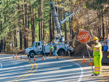 Traffic and road safety near debris cleanup this year