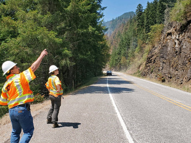 Wildfires in Southern Oregon have temporary impact on Thielsen hazard tree operations