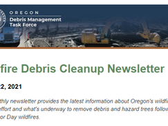 Five things to know about wildfire debris cleanup this month
