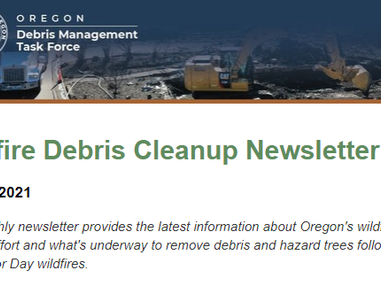 Rebuilding communities: Read the latest news about Oregon's wildfire cleanup effort