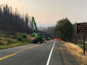Hazard tree removal work increases along OR-138E, travelers should anticipate significant delays