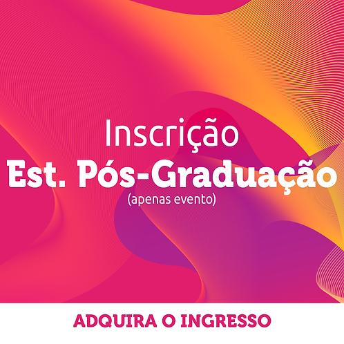 Estudantes de Pós-Graduação | Inscrição Congresso