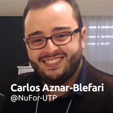 Carlos Aznar-Blefari @NuFor-UTP
