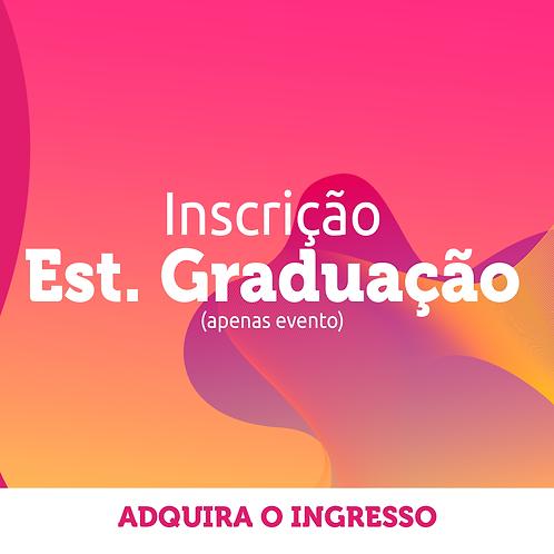 Estudante de Graduação | Inscrição Congresso