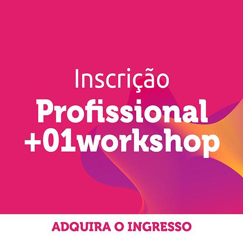 Profissional | Inscrição Congresso + 1 workshop