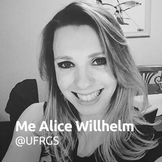 Me Alice Willhelm @UFRGS