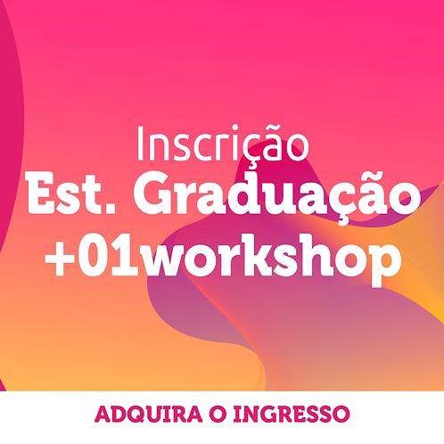 Estudante de Graduação | Inscrição Congresso + 1 workshop