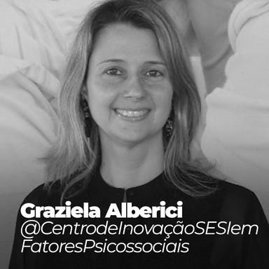 Graziela Alberici @CentrodeInovaçãoSESIemFatoresPsicossociais