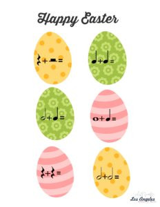 Easter music activity
