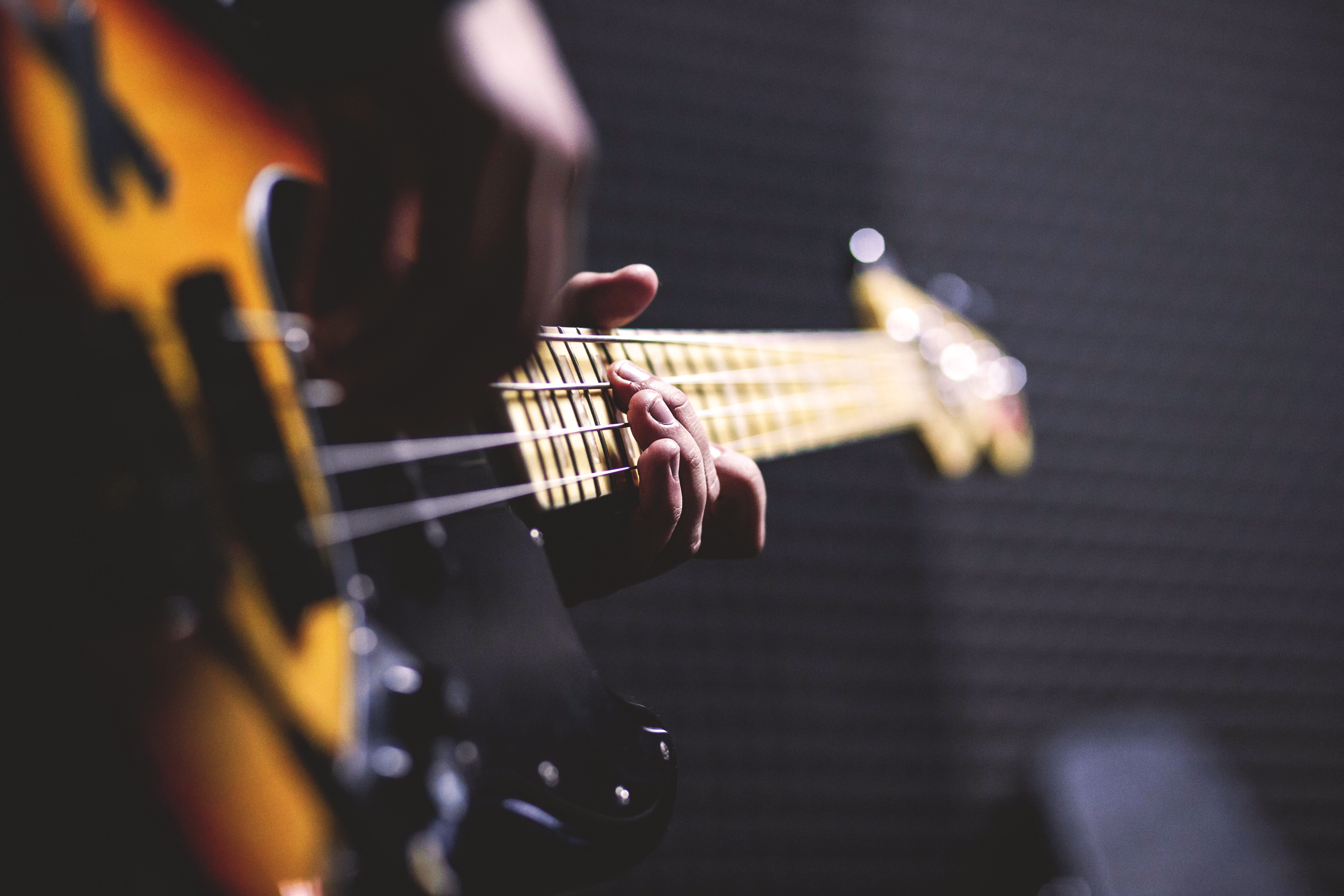 Online Individual Bass Guitar Lessons