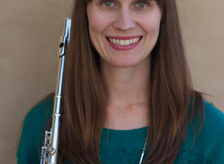 Get to know our teachers: Robin Brient, Flute and Piano Instructor