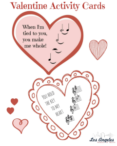 Valentine activity card