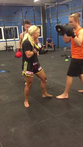 Punch Technik Training