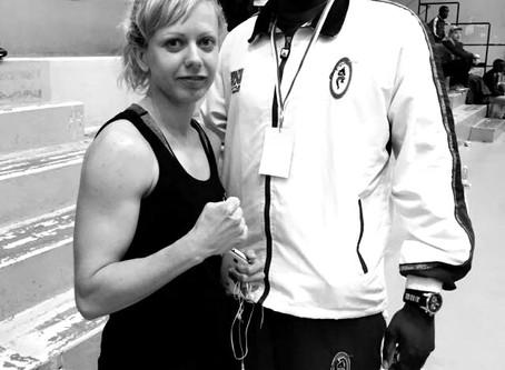 Französische Muay Thai Meisterschaft mit einem der französischen Muay Thai Nationaltrainer - Alasan