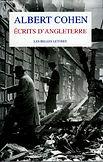 Albert Cohen, ecrits d'Angleterre, Les Belles Lettres