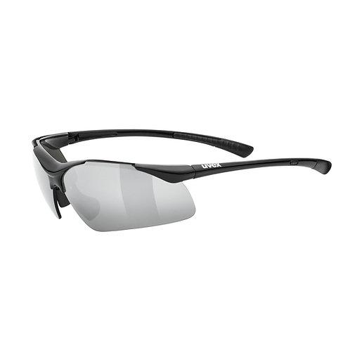 Uvex sportstyle 223 black Sunglasses