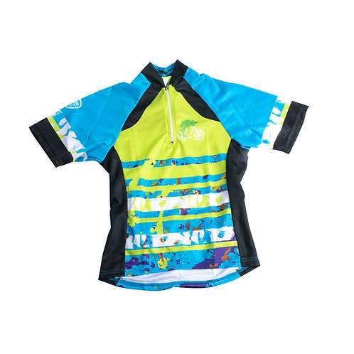 Kids Cycle Top - Splatter - Boys and Girls