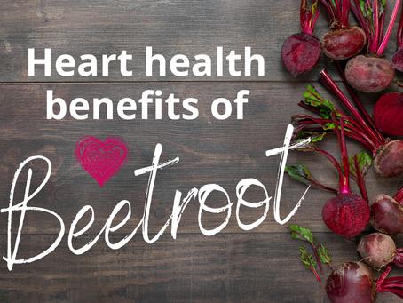 Heart health benefits of Beetroot
