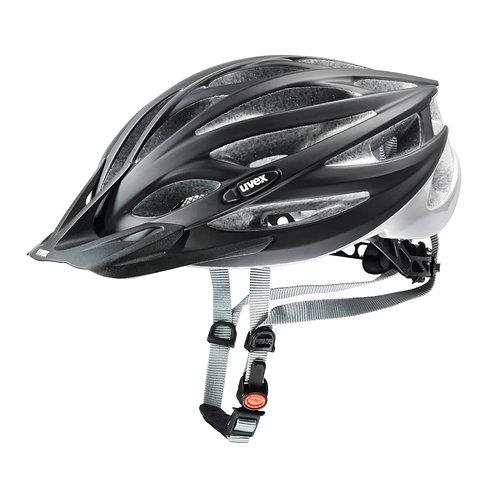 Uvex Oversize black mat-silver Helmet - 61-65cm
