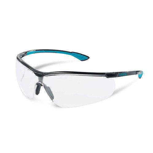 Uvex sportstyle black-blue-black sunglasses