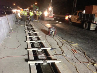 I-264 Virginia Beach Roadway Drainage Improvements Uses 5000ft of DuraTrench