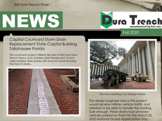 DuraTrench Fall 2020 Newsletter