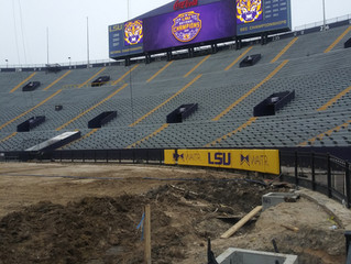 "LSU Tiger Stadium ""Death Valley"" Improvements with DuraTrench"
