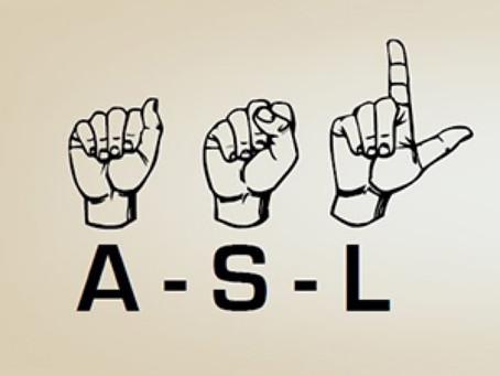 ASL INTERPRETER