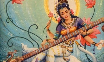 Full moons, eclipses and Saraswati