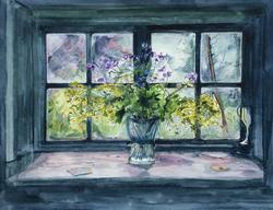 Window at the Anchor Inn I