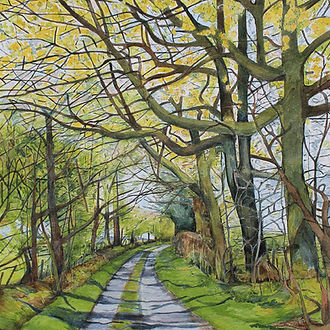 Spring on Green Lane, Quabbs, Bettws y C