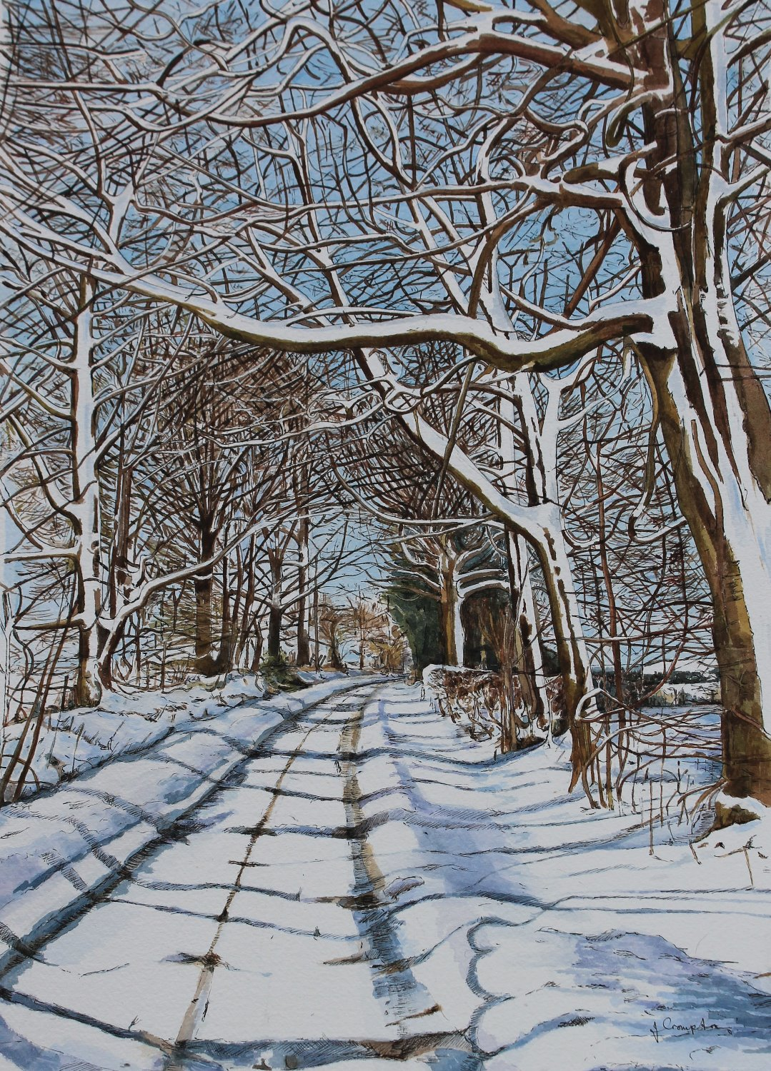 Winter on Green Lane