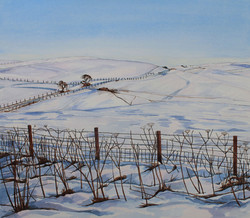 Llandfair Hill Winter