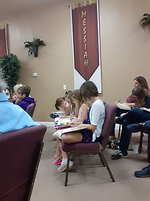 Kidz Church is held with the Adult Service.