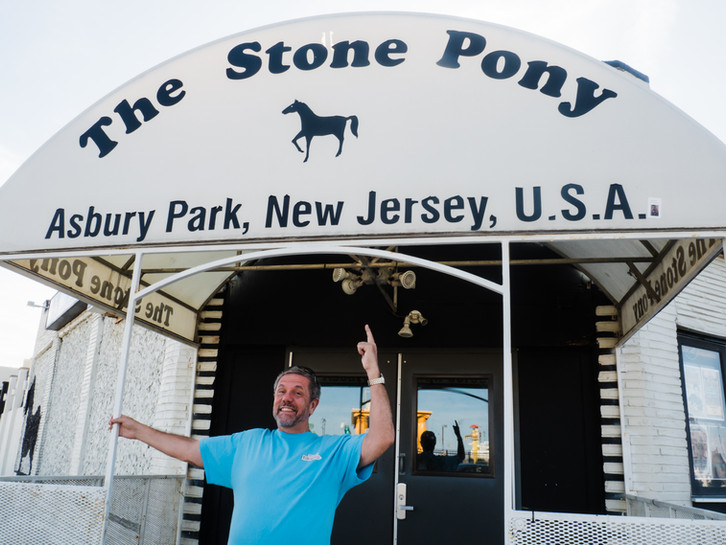 The Jersey Boy is home in Asbury Park.
