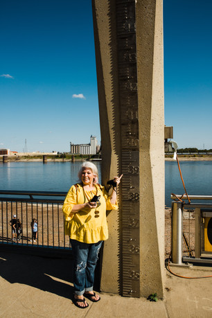 Flood Level along the Mississippi