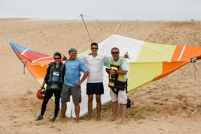 Flying with Kitty Hawk Kites, Outer Banks