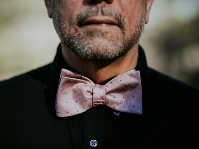 What bow tie will Len wear to your wedding?