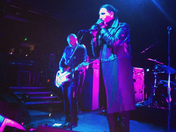 Marilyn Manson Joins Smashing Pumpkins On Stage In London