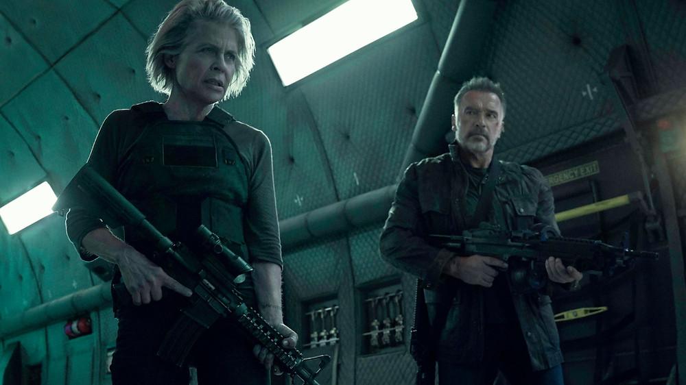 Terminator: Dark Fate, Terminator, Sarah Connor, T-800
