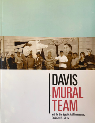 Davis Mural Team book cover 2012