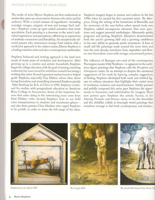 John Seed Article 2015
