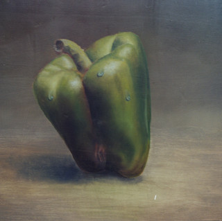 Detail of a Nude Bell Pepper