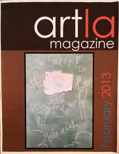 ArtLA Magaginze cover Feb 2013