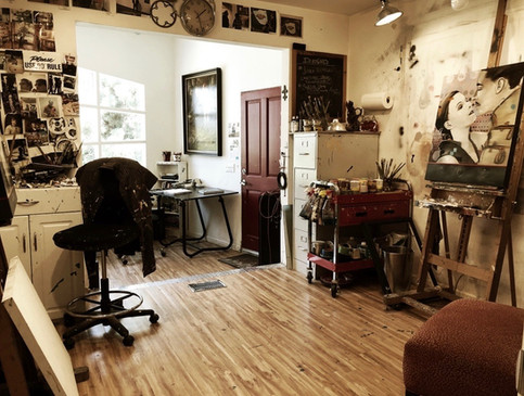 Studio ready for another paint-a-thon