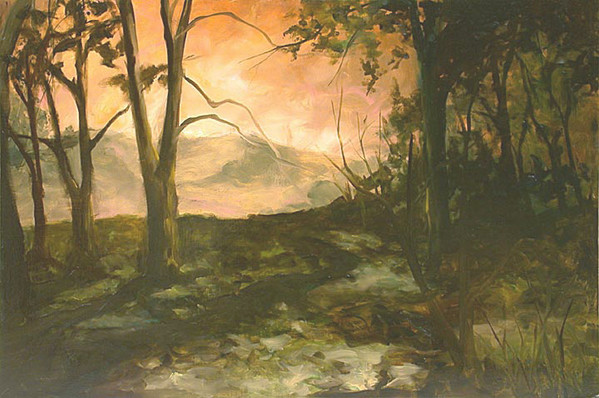 Study for Fire and Its Path