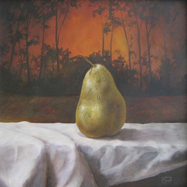 Pear in a Landscape